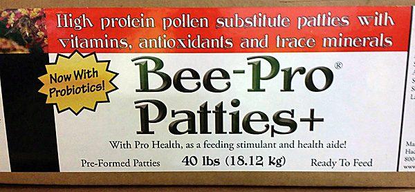 Bee-Pro Patties