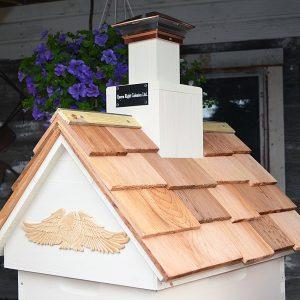 Cedar Shake Lighthouse Roof Hive Top