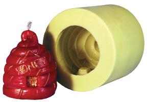 Honey Cogan Skep Candle Flex Mold