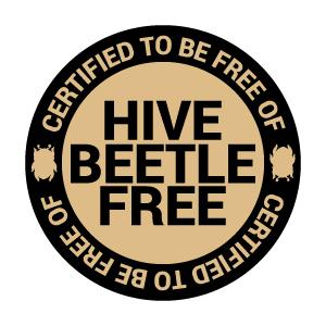 Hive Beetle Free Certified