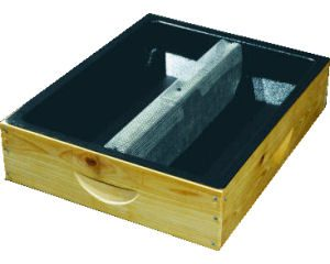Plastic Hive Top Feeder Insert with Box