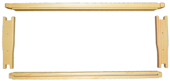 6-1/4 Medium Wooden Frame