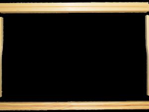 9-1/8 Deep Wooden Frame