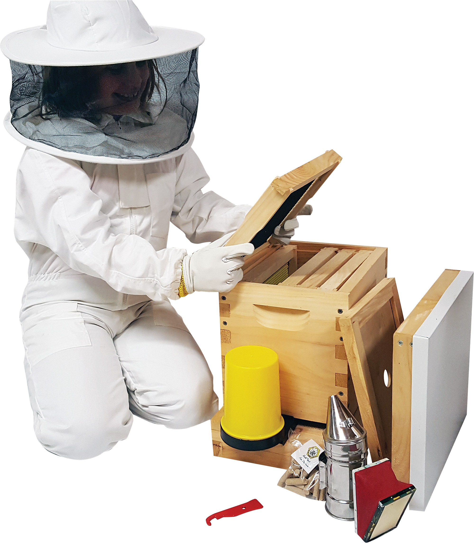 Miniature Beginner Kit For The Little Beekeeper Queen