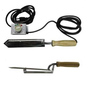 Electric Uncapping Knife with Control Unit