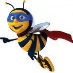 Super Hero Bee