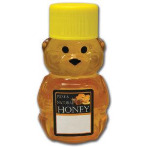 2 oz Honey Bear Label