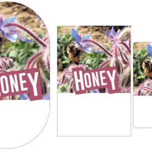 Sweet Borage Nectar Label