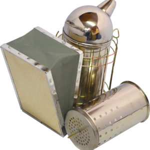 Smoker with Dump Can