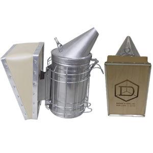 Smoker with Shield