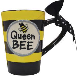 Queen Bee Ceramic Mug