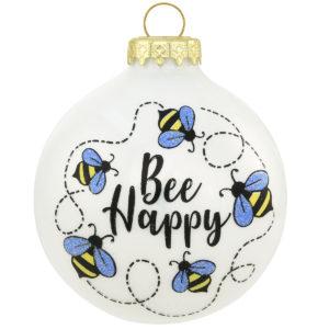 Bee Happy Ornament