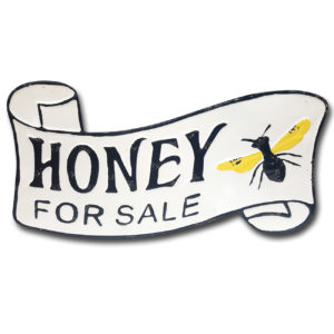 Honey For Sale Wall Decor