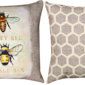 Honey Bee Bumble Bee Pillow