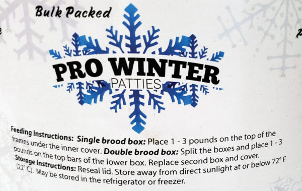 Pro Winter Patties Instructions